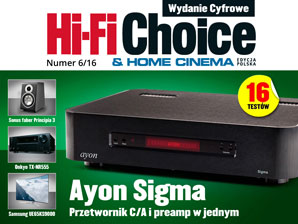 Hi-Fi Choice nr 6/2016