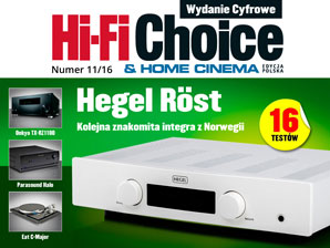 Hi-Fi Choice nr 11/2016