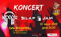 Koncert InDoor i Slap Jam w Cafe Rock'n'Roll