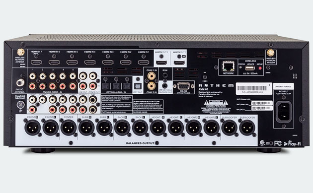 preamp Anthem AVM 60