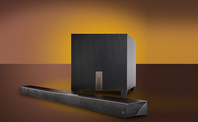 Soundbar + aktywny subwoofer - Definitive Technology Studio Slim