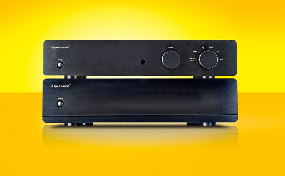 System dzielony stereo - Exposure 3010 S2D Preamp, 3010 S2 PWR Stereo