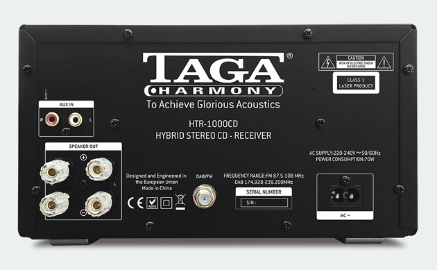 system all-in-one Taga Harmony HTR-1000CD